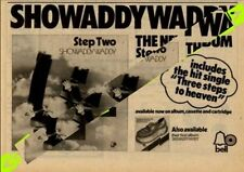Showaddywaddy Step Two Bell Rec. LP Advert MM-WKLD