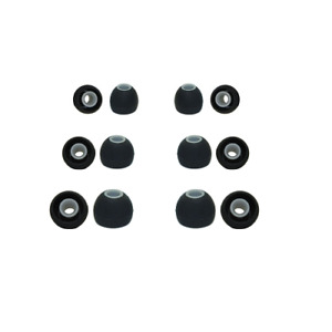 Silicone rubber earphone tips Beats By Dr. Dre replacement earphone tips earbuds