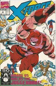 X-FORCE # 3 - OCTOBER 1991 - NEAR MINT