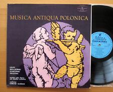 SXL 0548 Musica Antique Polonica Lilius Mielczewski etc NEAR MINT Muza Stereo LP