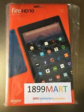 """New Fire HD 10 Tablet with Alexa Hands-Free, 10.1"""" 1080p Full HD, 32 GB Blue"""