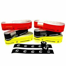 Cannondale Road Bicycle Handlebar Bar tape Black/Neon Red/Neon Yellow with Caps