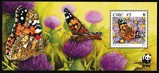 IRELAND 2005 Butterflies - MNH Miniature Sheet - Cat £9 - (499)