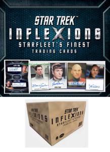 Star Trek Inflexions Starfleet's Finest Factory Sealed 20-Box Hobby CASE 60 Auto