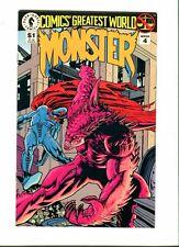 Comics' Greatest World :  Monster . Week 4 . Dark Horse 1993 -  VF