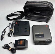 Vintage Mega Bass Sony Discman D-36, Power Adapter, Car Adapter, Carry case