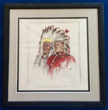 Arnold Friberg Original Art Western Mountie RCMP Canada Ten Commandments Scarce