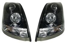 Volvo VNL Headlights Headlamps VNM Halogen 2004-2015 1 Pair DOT SAE Exact Match