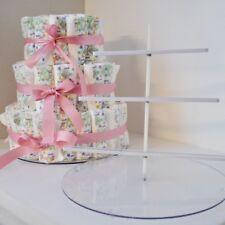 EZ Diaper Cake Kit - Baby Shower Diaper Cake Birthday Cake Kit