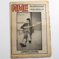 NME magazine 1 March 1980 Joe Ely cover John Foxx Adam Ant Pink Floyd