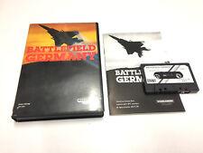 BATTLEFIELD GERMANY / PSS SINCLAIR ZX SPECTRUM 48K / 128K K7 CASETE COMPLETO