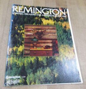 1981 Remington Firearms Catalog Brochure   (b)