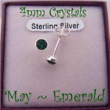 Crystal Butterfly Fastening Stud Fashion Earrings