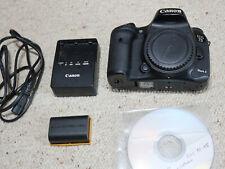 Canon EOS 7D Mark II 20.2 MP Digitalkamera - Schwarz (Nur Gehäuse)
