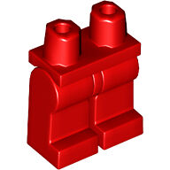 LEGO Loose Minifigure Body Parts Red Leg NEW