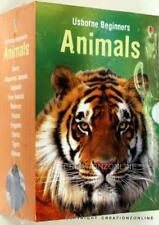 Usborne My First Animal Library 10 Books Collection Educational Learning Set New
