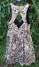 New Look Party Animal Print Sleeveless Dresses for Women