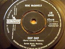 "GENE McDANIELS - CHIP CHIP  7"" VINYL"