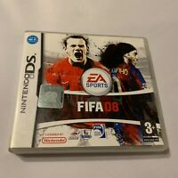 FIFA 08 Complete with Manual Nintendo DS PEGI 3+. Free P&P.
