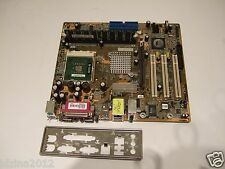 DFI KM400-MLV, Socket A (462),VIA,SATA,AGP,DDR1, AMD Motherboard +CPU+RAM+BP