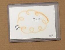 Apak The Art Hustle Series 3 Original Art card auto sketch