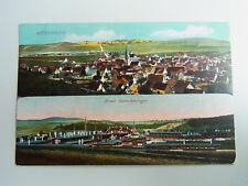 AK MÜNSINGEN (Feldpost 1. WK): Neues Barackenlager // Verlag H. Sting