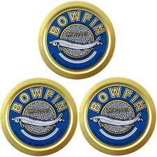 3 x 50g (100g / 29,33 €) Bowfin Caviale Malossol American Black Amia Calva