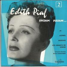EDITH PIAF Padam padam EP COLUMBIA AVEC LANGUETTE