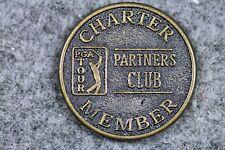 Charter Member Pga Tour Partners Club Ball Marker! #J02696