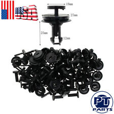 50pcs Air Dam Deflector Valance Front Bumper Clips For Chevy Silverado 1500 2500