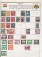 Bolivia Stamps Ref 15042