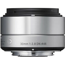 Sigma 30mm F2.8 DN 'A' Lens - Sony E Fit in Silver