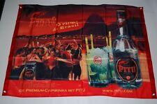 Pitu Banner - Orginal Pitu Bar Banner - Caipirinha  - 1,0 x 0,8 m - Pitu Fahne