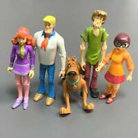 Rare Lot 5 Scooby-Doo Velma Shaggy Daphne Dog Fred 5'' Action Figures toys