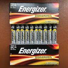 20 X Energizer AAA Batterie Alcaline Industriel Piles 1.5 V LR03 expiration 2027