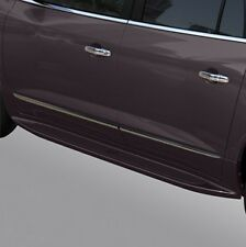 2015-2017 Buick Enclave GM OEM Assist Side Steps Midnight Amethyst Metallic NEW