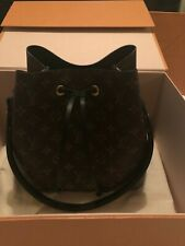 Louis Vuitton Neo Noe Bucket Handbag Purse Monogram Noir