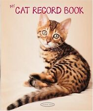 My Cat Record Book by Rachael Hale