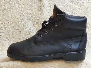 Timberland Waterproof Ladies or Junior Boots Leather Black UK 5 EUR 38