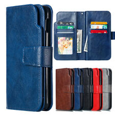 For Samsung Galaxy S10 Plus/Lite A7 A8 2018 Flip Leather Wallet Case Cover Stand