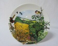 Wedgwood Colin Newman'S Bone China Country The Village 1987 Plate Mib