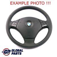 BMW 3 X1 er E84 E90 E91 NEU Leder M Sport Look Lenkrad M-tricolored 6795568