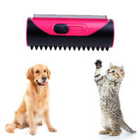 Pet Hair Removal Brush For Dogs Cats Puppy Dog Massage Grooming Cleaning LDUK