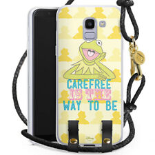 Samsung Galaxy J6 2018 Carry Case Handykette Muppets Carefree is the way to be