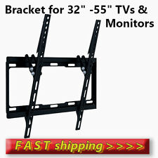 Flat TV Wall Mount Bracket with Tilt 32-36-38-40-42-46-50-52-55'' LCD/LED/PLASMA