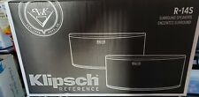 Klipsch R-14S Surround Sound Speaker - PAIR (Black)