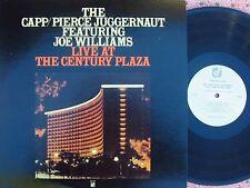 Frank Capp/Pierce Juggernaut ORIG US LP Live at Century Plaza EX '78 Joe William
