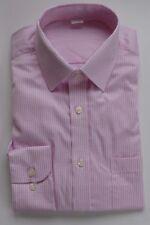 EX m&s Ajuste Regular Rosa/Verde Pequeño cuadros vichy 100% Camisa De Algodón