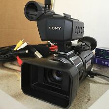 SONY HVR-A1E CAMCORDER HDV DIGITAL TAPE HD PRO