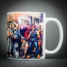 Street Fighter - Mug Tasse Cafe - 325 Ml - Ryu Ken Chun Li Bison Sagat... Capcom